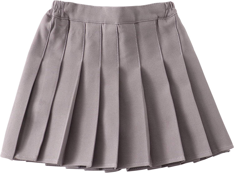 Gooket Little Big Girls' Washington Mall Kid Pleated Short Dre School Skort Industry No. 1 Mini