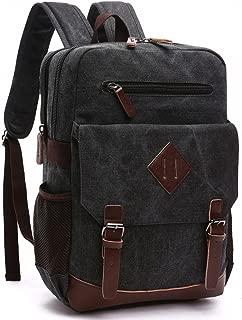 canvas rucksack school backpack