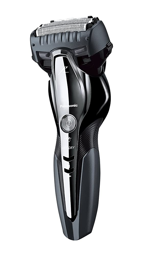 スピーカーソフトウェア平和パナソニック ラムダッシュ メンズシェーバー 3枚刃 お風呂剃り可 グレー ES-ST8P-H