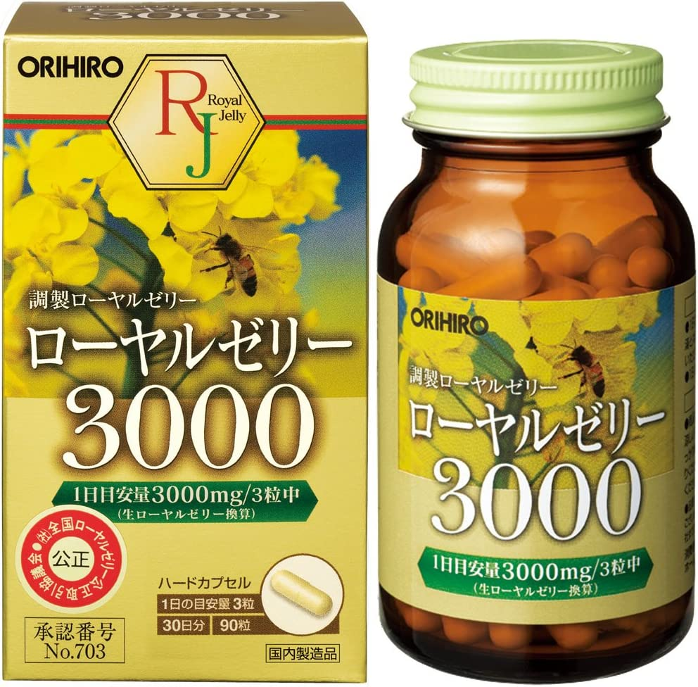 Deluxe ORIHIRO Royal 90tablets Jelly3000 Ranking TOP9