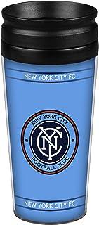 Boelter Brands MLS New York City FC Full Wrap Travel Tumbler, 14-Ounce