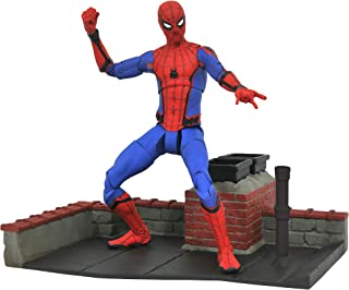 DIAMOND SELECT TOYS Marvel Select: Spider-Man Homecoming Movie Action Figure
