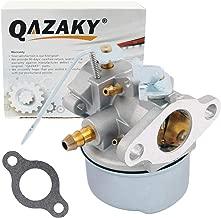 QAZAKY Carburetor Replacement for Tecumseh 632552 632557 632557A 632560 632560A 632641 640086 640086A 640092 640092A 640098 640098A 640311 HSK600 HSK635 TH098SA 3HP 3.25HP 3.5HP 3.75HP Snowblower Carb