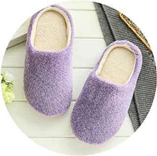 Slippers Women 2018 Interior House Plush Soft Cute Cotton Slippers