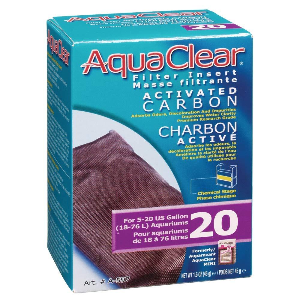 AquaClear Carga Filtrante 20, Carbon: Amazon.es: Productos para ...