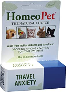 HomeoPet Travel Anxiety Relief Natural Homeopathic Remedy Pets