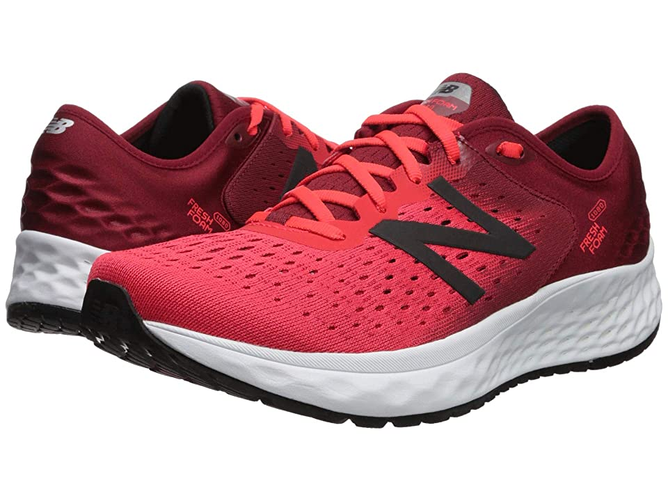 New Balance Fresh Foam 1080v9 (Energy Red/NB Scarlet) Men's Running Shoes