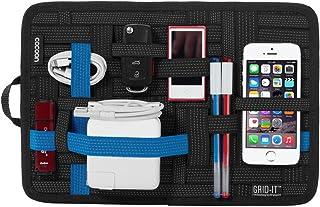 Cocoon Innovation Grid-IT! Organizer Medium 12 Inch x 8 Inch, Black/Blue