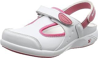 Oxypas Move Carin Slip-resistant, Antistatic Nursing Shoes, White (Fux) , 5.5 UK (EU: 39)