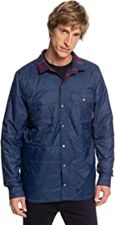 Quiksilver Men's WILDCARD PLAID REVERSIBLE FLANNEL JACKET Insulated Jacket (pack of 1)