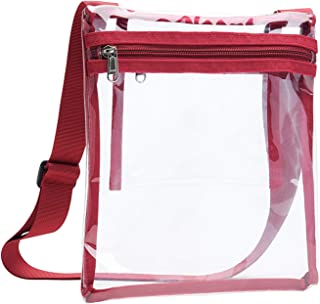 Vorspack Clear Bag Stadium Approved Clear Concert Purse with Inner Pocket