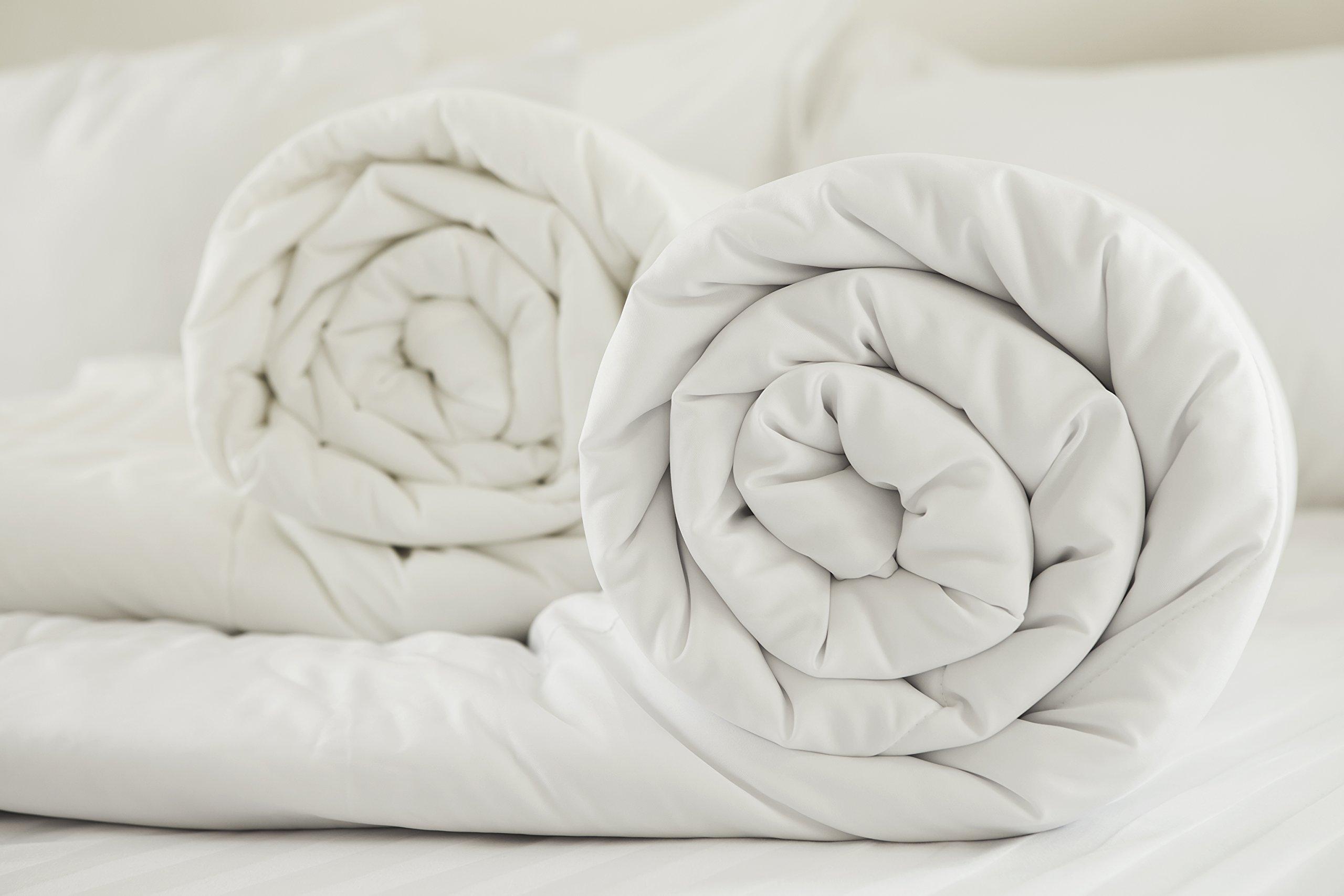 Nórdico de Rohi, de algodón sintético, hipoalergénico y supersuave, todos los tamaños, incluye un par de almohadas de regalo, Blanco, suelto: Amazon.es: Hogar
