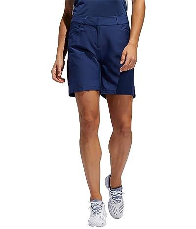 adidas Golf Seven-Inch Shorts (Tech Indigo) Women