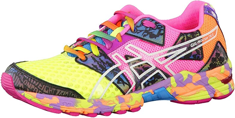 Amazon.com | ASICS Lady Gel-Noosa TRI 8 Running Shoes - 11 - Pink ...