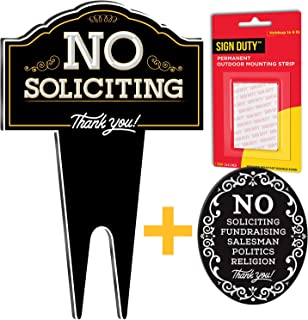 Best no soliciting lawn sign Reviews