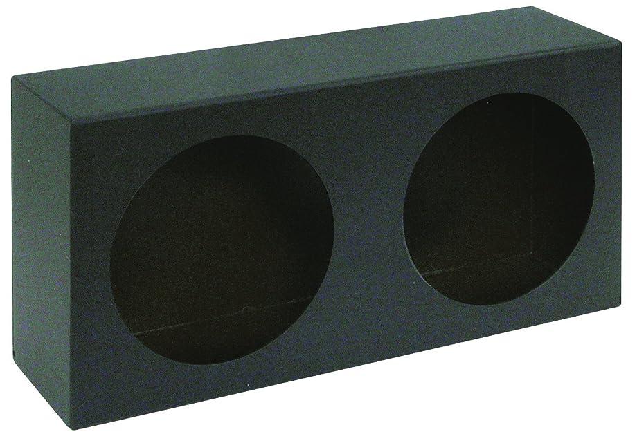 Buyers Products LB6123 Dual Round Light Box, Black Powder Coat Steel