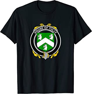 Tully Coat of Arms - Family Crest T-Shirt