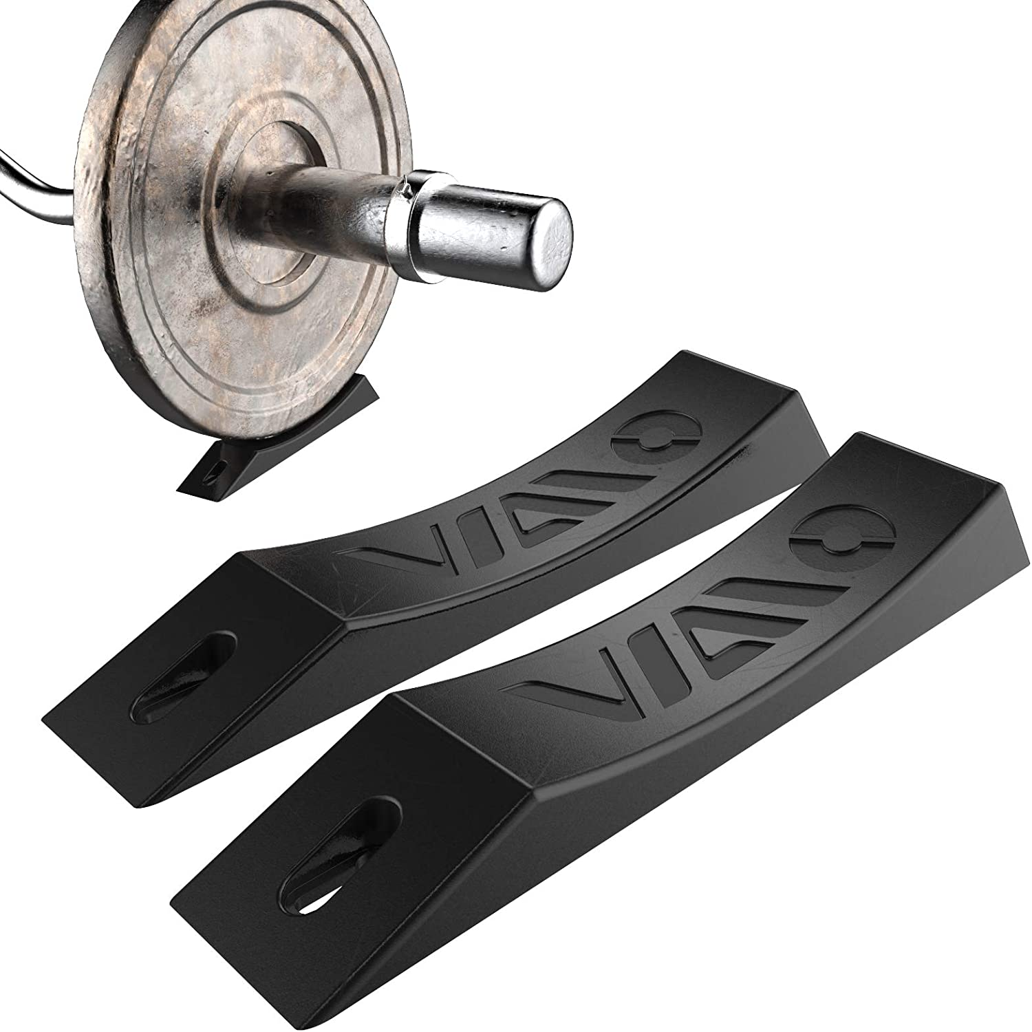 VIAIO Barbell Jack, Effortless Loading/Unloading Barbell & Plates,Bear at Least 1000 Pounds, Small and Portable, Durable, Perfect for Grip Plate, Weight Plate, Bumper Plate, Strength Training Plate : Sports & Outdoors