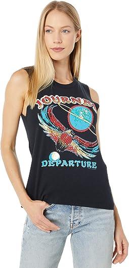 """""""Journey Departure"""" Cloud Jersey Muscle Tank"""