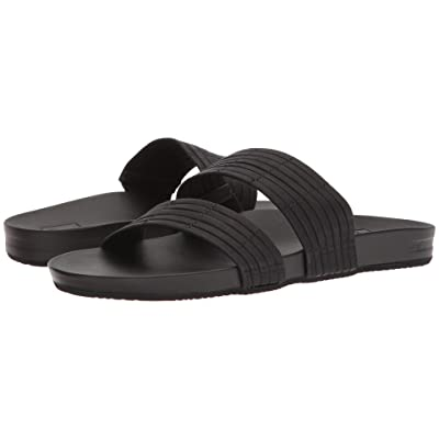 Reef Cushion Bounce Slide (Black) Women
