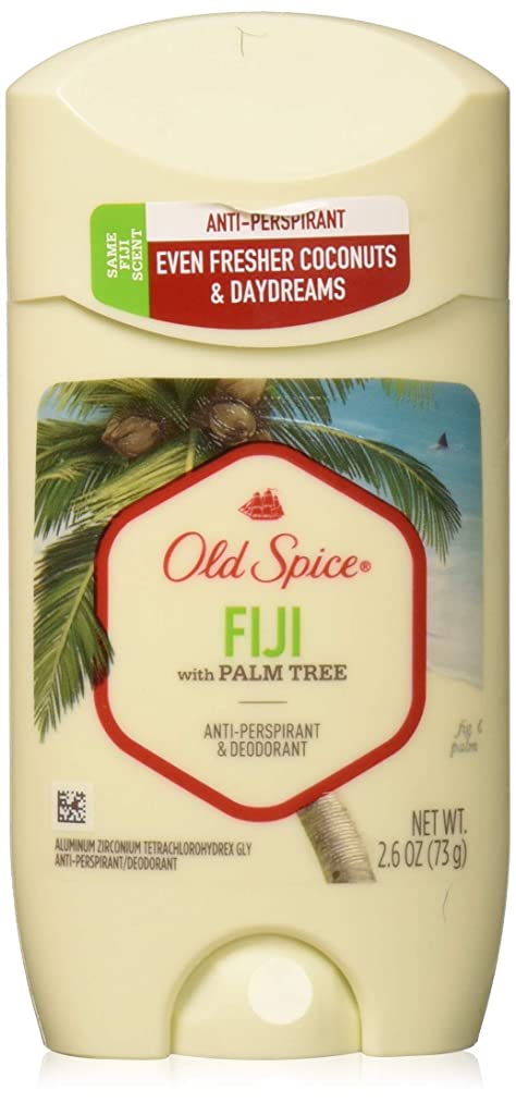 とげ政治家リラックスOld Spice Anti-Perspirant 2.6oz Fiji Solid by Old Spice