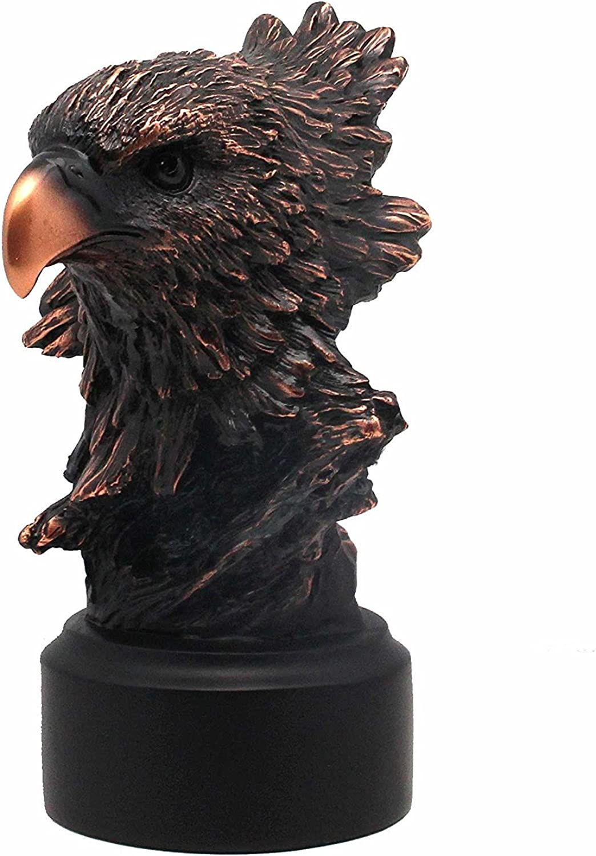 L7 Trading Bald Eagle Bust Statue Figurine