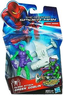 Hasbro Amazing Spiderman Movie 3.75 Inch Action Figure Glider Attack Green Goblin Mi...