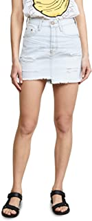Women's Brando Denim Miniskirt