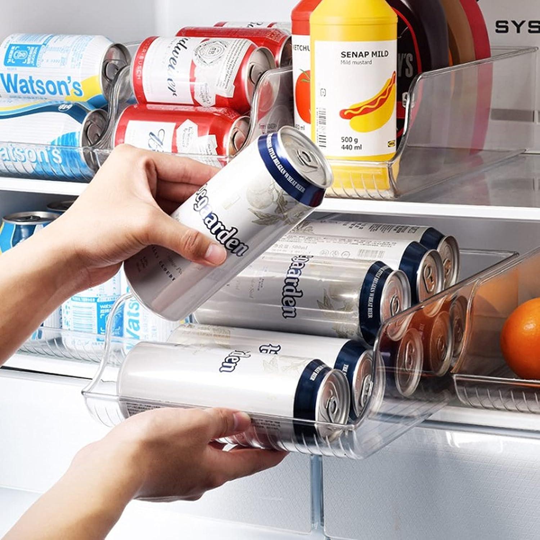 Komopesu Refrigerator Organizer Bins Soda Shipping included Can Beverage National products Dispenser