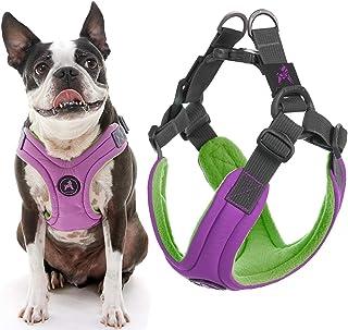 "Gooby Escape Free Memory Foam Harness, Large Chest (16.4-24""), Purple"