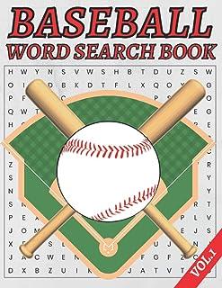 Baseball Word Search Book: Large Print Baseball Word Search Puzzle Book Plus Bonus Baseball Scramble Puzzles