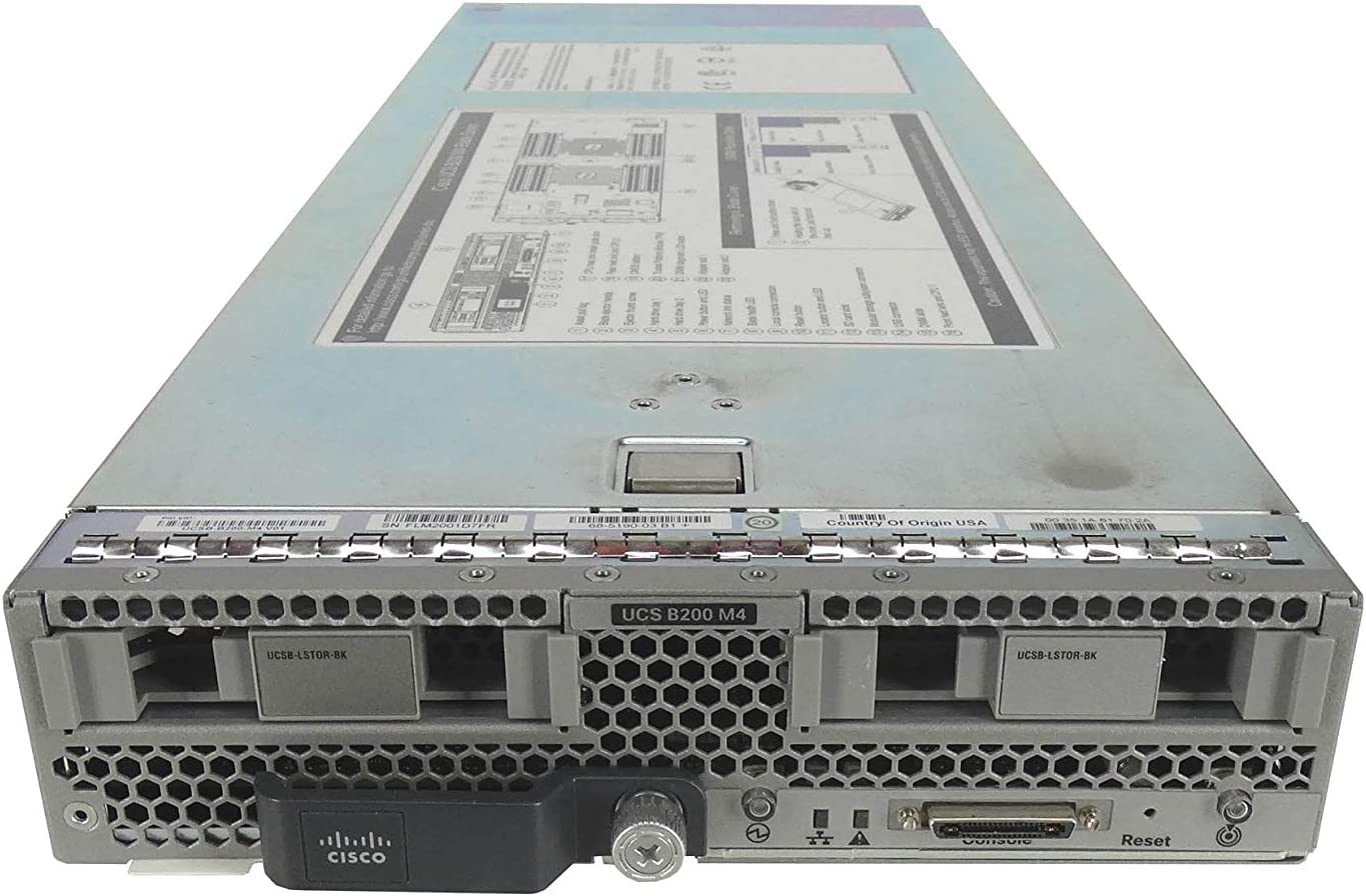 Cisco UCS B200 Dealing full price reduction M4 SFF Blade Intel Xeon Challenge the lowest price of Japan 2X E UCSB-B200-M4 Server