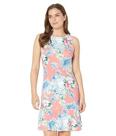 Tommy Bahama Darcy Manta Bay Flounce Dress