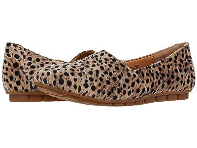 Born Sebra (Black/Natural Leopard Fabric) Women