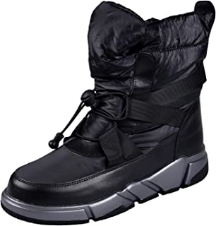 Kids Snow Boots, Boys & Girls Winter Boots, Warm Waterproof Non-slip Shoes, Winter Cold Weather Shoes for Outdoor Activities