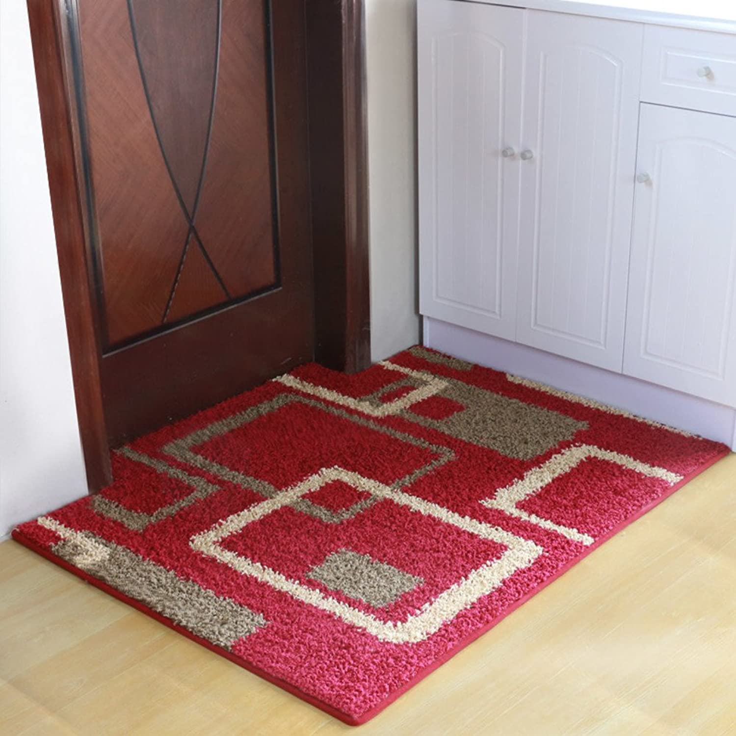 You Can Cut Household Door Mats No-Slipping Mat Living Room Hallway Bathroom Door Mat-B 120x160cm(47x63inch)
