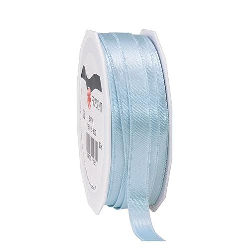 10mm Grosgrain Ribbon Powder Blue 7m Roll