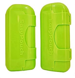 EasyPouch Independence - بدون فشار ، بدون ظروف سرباز یا مسافر ، ظروف مخصوص تغذیه کیسه های غذای کودک. [2 بسته]