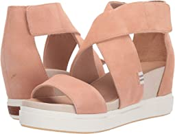 f9d11e4dae68ef Coach high wedge sandal