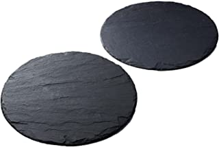 The Just Slate Company Round Place Mat From Scotland