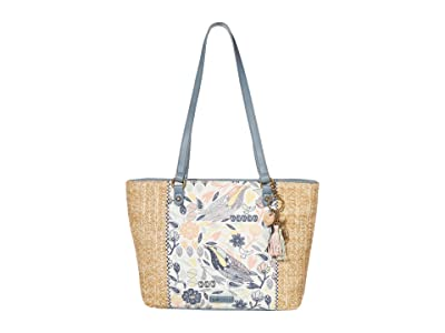 Sakroots Artist Circle Medium Satchel (Multi Peace Birds) Satchel Handbags