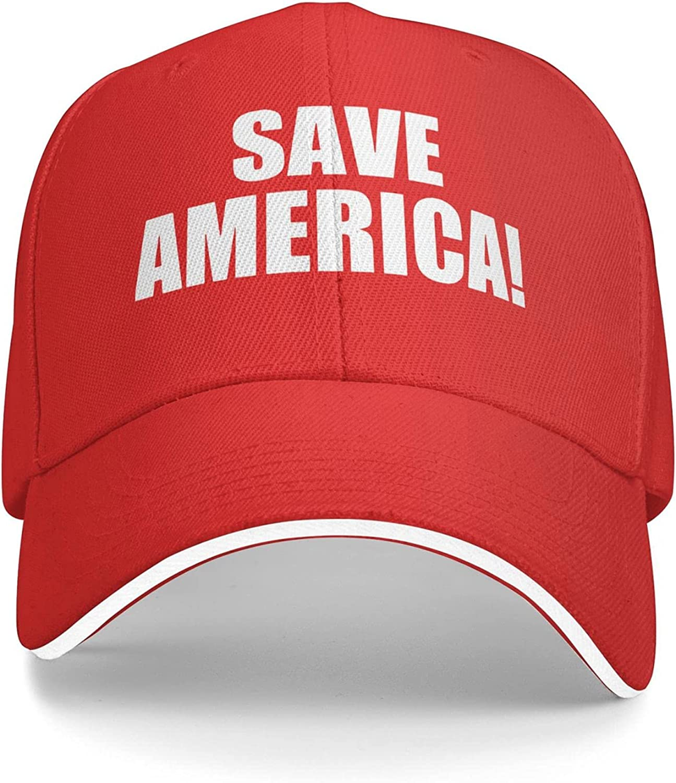 Save America Baseball Dad Cap Men Women - Classic Adjustable Hat