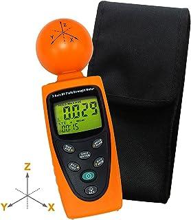 Handheld Digital Triple Axis 50 MHz ~ 3,5 gHz campo magnético RF radiación EMF