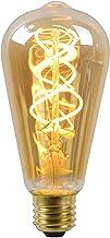 Lucide LED Bulb - Filament lamp - diametro 6,4 cm - LED Dimb. - E27 - 1x5W 2200K - Amber, 1 x 1 x 14.6 cm