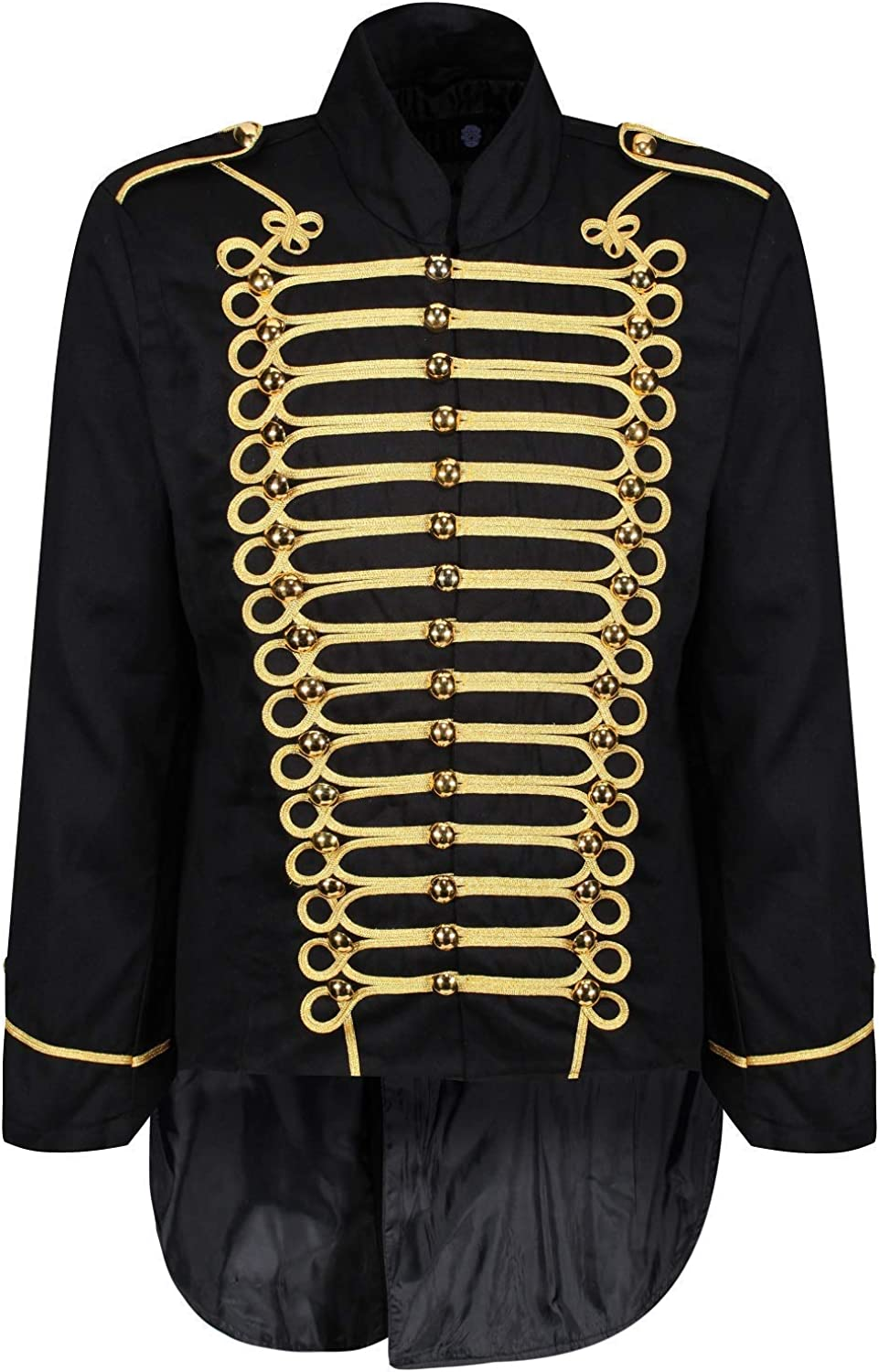 Ro Rox famous Purchase Men's Parade Jacket Drummer Gothic Marching Tailcoat Band