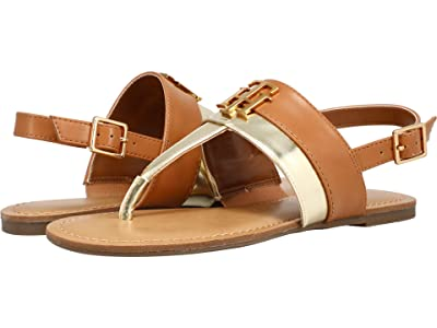 Tommy Hilfiger Lenori (British Tan/Gold) Women