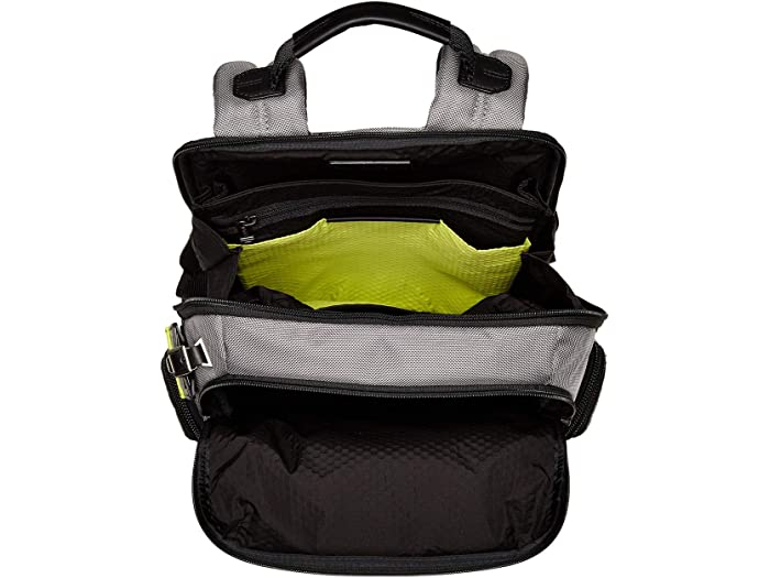 Tumi Alpha Bravo Nhan Backpack Grey/bright Lime Backpacks