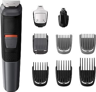 Philips MG5720/18 9 en 1 - Recortadora para Barba, Pequeños Detalles, Vello, Nariz y Orejas, CortaPelos Cara, Cabeza