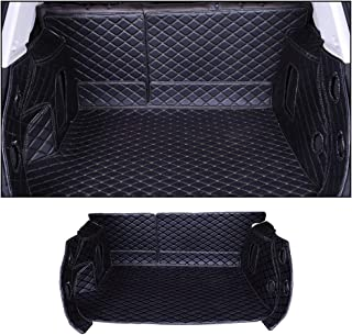Custom Car Trunk Mats Leather Full Covered Cargo Liner for BMW X4 G02 2019 All Weather Waterproof Durable Black