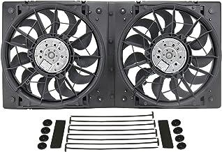 Best Derale 16928 High Output Dual Radiator Fan,Black Review